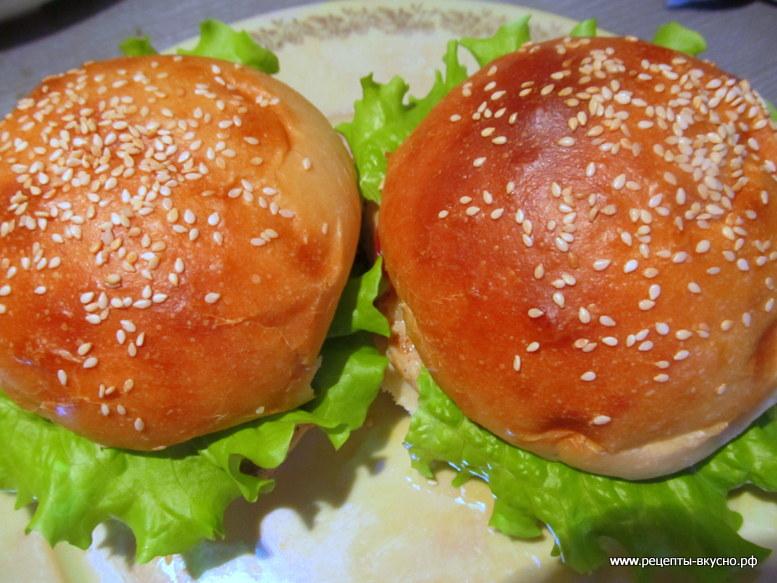 Гамбургер куриный