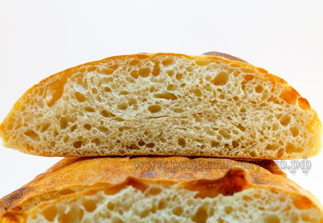 Хлеб на закваске картофельный