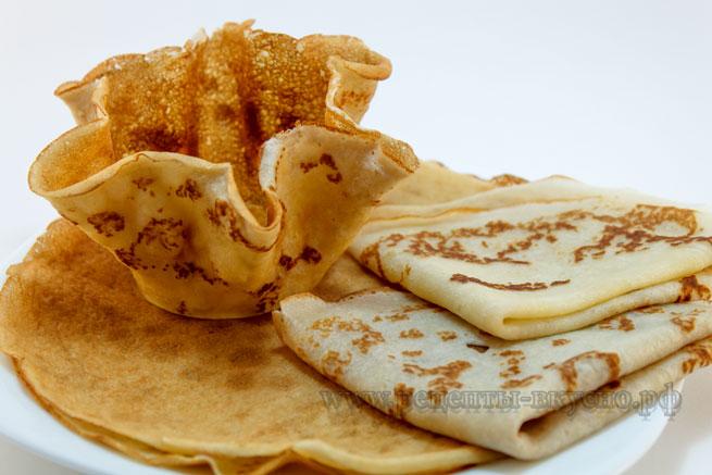 Блины на закваске - рецепт пошаговый с фото