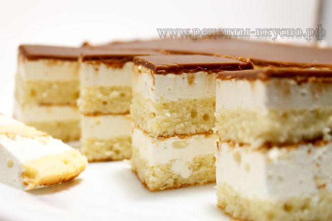 Торт Птичье молоко (ГОСТ)