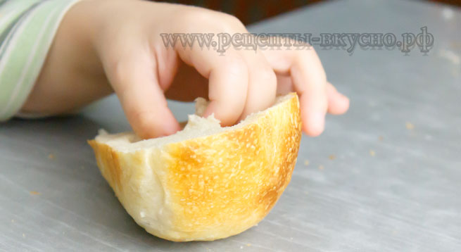 Хлеб домашний на закваске