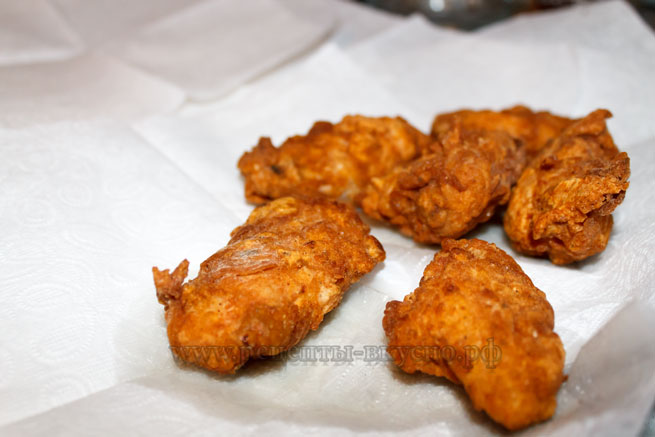 Куриные крылышки (а-ля KFC)