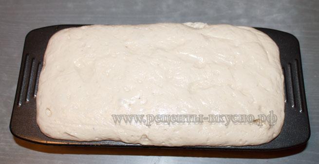 Сырный хлеб на закваске
